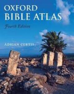 Oxford Bible Atlas - Adrian Curtis - cover
