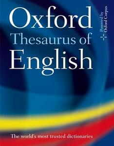 Oxford Thesaurus of English - cover