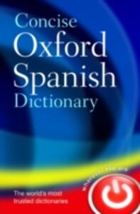 Concise Oxford Spanish Dictionary - cover