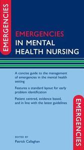 Emergencies in Mental Health Nursing - cover