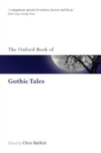 The Oxford Book of Gothic Tales - cover