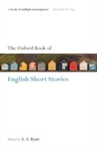 The Oxford Book of English Short Stories - cover