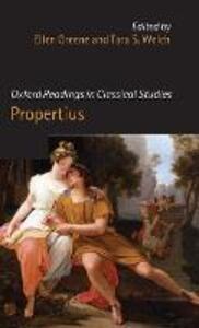 Oxford Readings in Propertius - cover