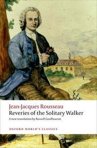 Reveries of the Solitary Walker - Jean-Jacques Rousseau - cover