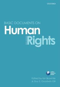 Brownlie's Documents on Human Rights - cover