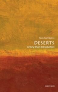 Deserts: A Very Short Introduction - Nick Middleton - cover