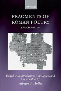Fragments of Roman Poetry c.60 BC-AD 20 - cover