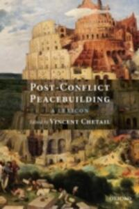 Post-Conflict Peacebuilding: A Lexicon - cover