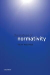 The Nature of Normativity - Ralph Wedgwood - cover