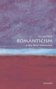 Romanticism: A Very Short Introduction - Michael Ferber - cover