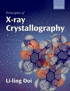 Principles of X-ray Crystallography - Li-ling Ooi - cover