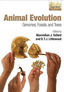 Animal Evolution: Genomes, Fossils, and Trees - cover