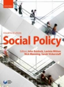 Social Policy - cover