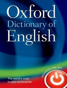 Oxford Dictionary of English - Oxford Dictionaries - cover