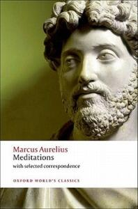 Meditations: with selected correspondence - Marcus Aurelius - cover