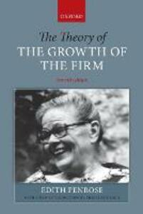 The Theory of the Growth of the Firm - Edith T. Penrose - cover
