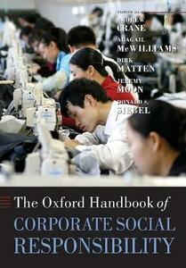 The Oxford Handbook of Corporate Social Responsibility - cover