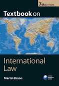 Libro in inglese Textbook on International Law Martin Dixon
