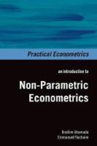 Non-Parametric Econometrics - Ibrahim Ahamada,Emmanuel Flachaire - cover