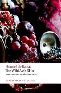 The Wild Ass's Skin - Honore de Balzac - cover