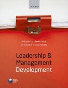 Leadership and Management Development - Jan L. Carmichael,Chris Collins,Peter Emsell - cover