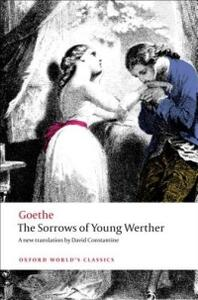 The Sorrows of Young Werther - Johann Wolfgang von Goethe - cover