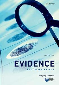 Evidence: Text & Materials - Gregory Durston - cover
