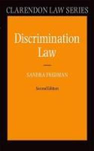 Discrimination Law - Sandra Fredman - cover