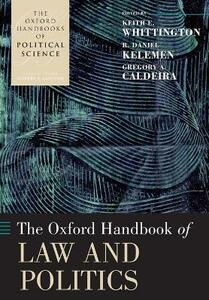 The Oxford Handbook of Law and Politics - cover