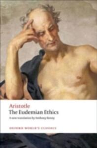 The Eudemian Ethics - Aristotle - cover