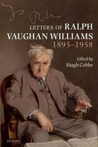 Letters of Ralph Vaughan Williams, 1895-1958 - cover
