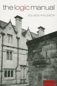 The Logic Manual - Volker Halbach - cover