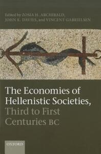 The Economies of Hellenistic Societies, Third to First Centuries BC - cover