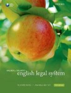Walker & Walker's English Legal System - Richard Ward,Amanda Akhtar - cover