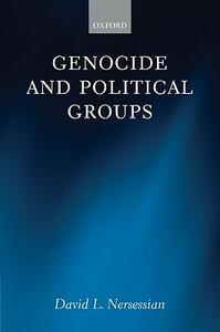 Genocide and Political Groups - David L. Nersessian - cover