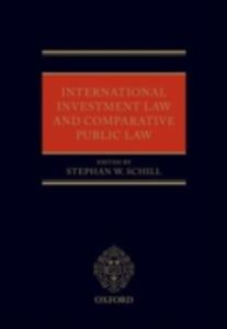 International Investment Law and Comparative Public Law - cover