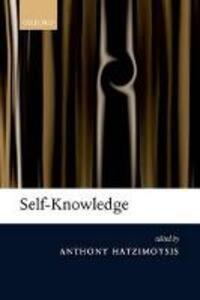 Self-Knowledge - cover
