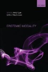 Epistemic Modality - cover
