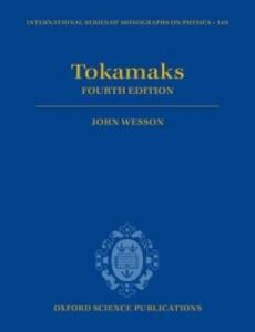 Tokamaks - John Wesson - cover