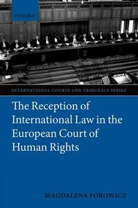 The Reception of International Law in the European Court of Human Rights - Magdalena Forowicz - cover