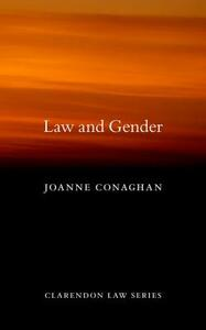Law and Gender - Joanne Conaghan - cover