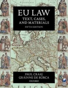 The Evolution of EU Law - cover
