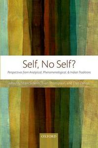 Self, No Self?: Perspectives from Analytical, Phenomenological, and Indian Traditions - cover