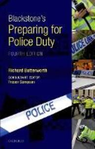 Blackstone's Preparing for Police Duty - Richard Butterworth - cover