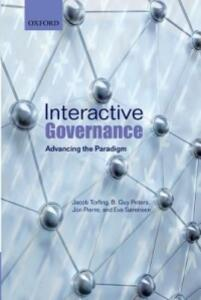 Interactive Governance: Advancing the Paradigm - Jacob Torfing,B. Guy Peters,Jon Pierre - cover