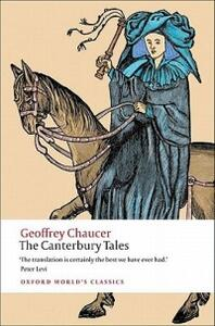 The Canterbury Tales - Geoffrey Chaucer - cover