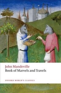 The Book of Marvels and Travels - John Mandeville - cover
