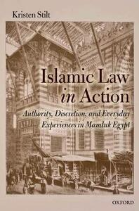 Islamic Law in Action: Authority, Discretion, and Everyday Experiences in Mamluk Egypt - Kristen Stilt - cover