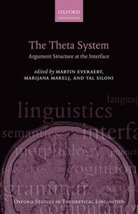 The Theta System: Argument Structure at the Interface - cover