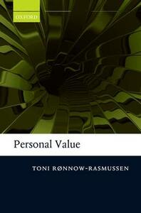 Personal Value - Toni Ronnow-Rasmussen - cover